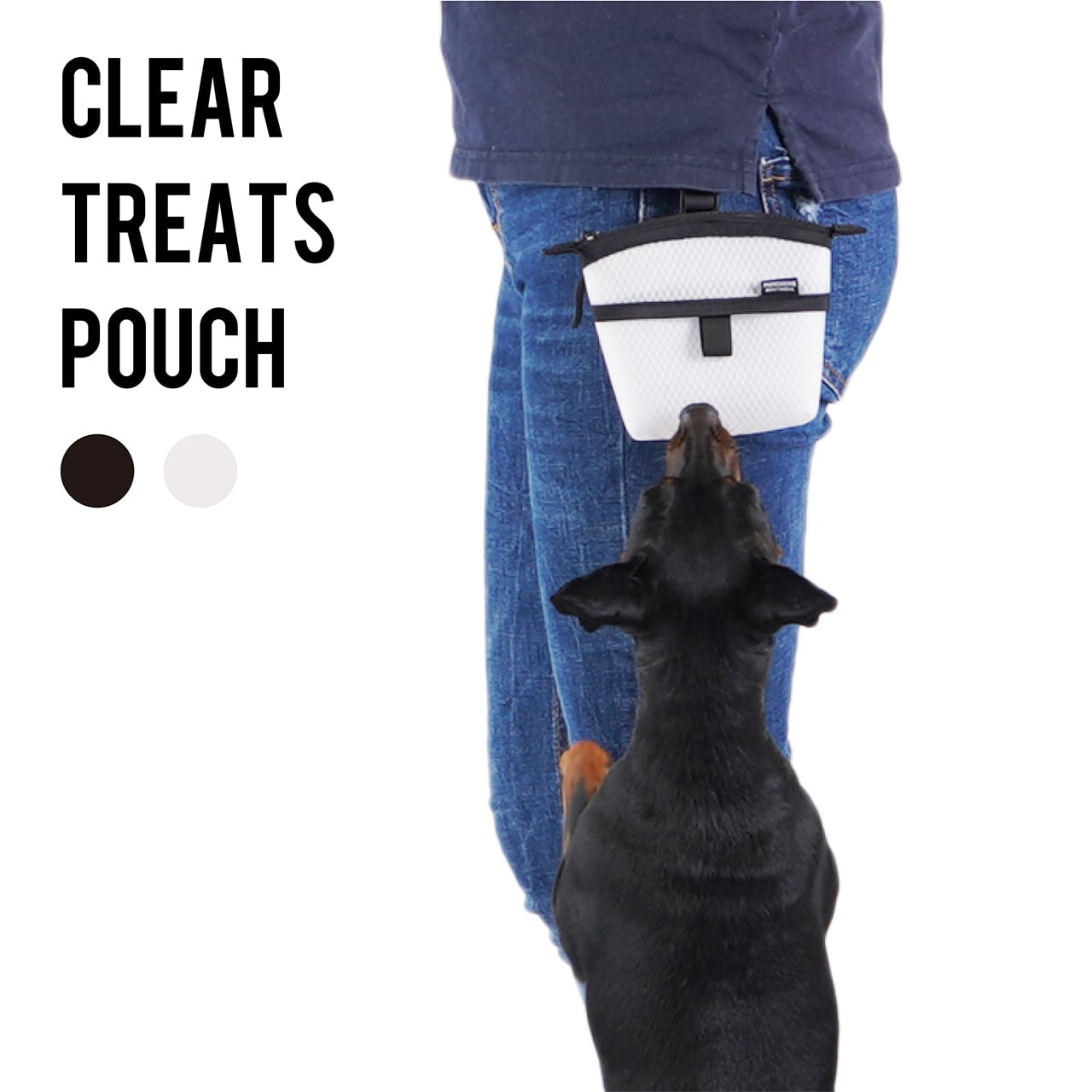 CLEAR TREATS POUCH クリアトリーツポーチ