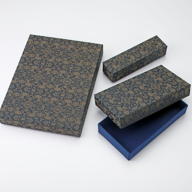 裂の箱セット  Fabric box