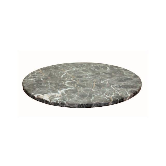 マーブル ダイニングテーブル ターンテーブル 500[リアルスタイル]