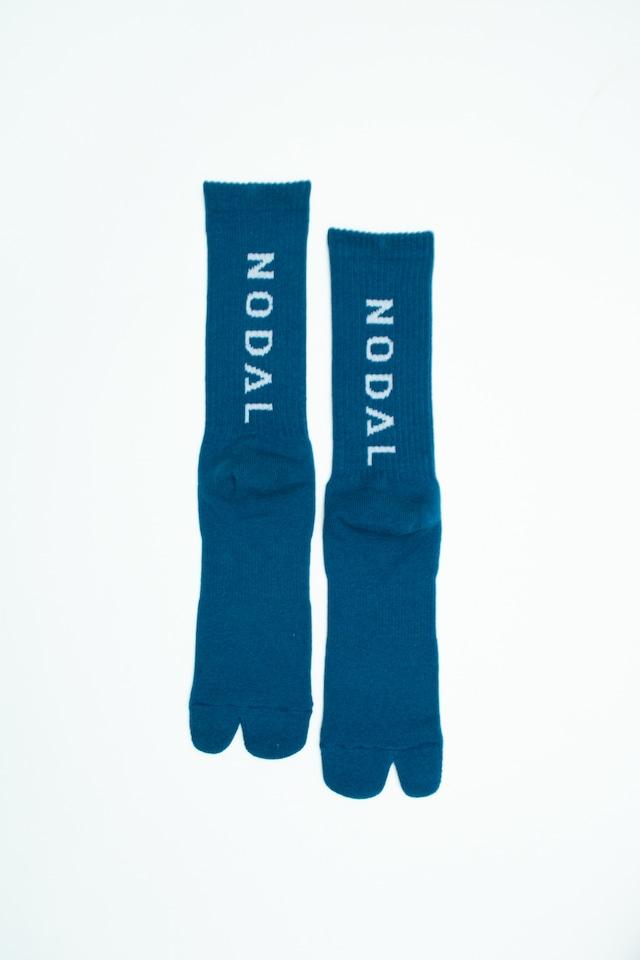NODAL Logo Socks(Blue ×  White)