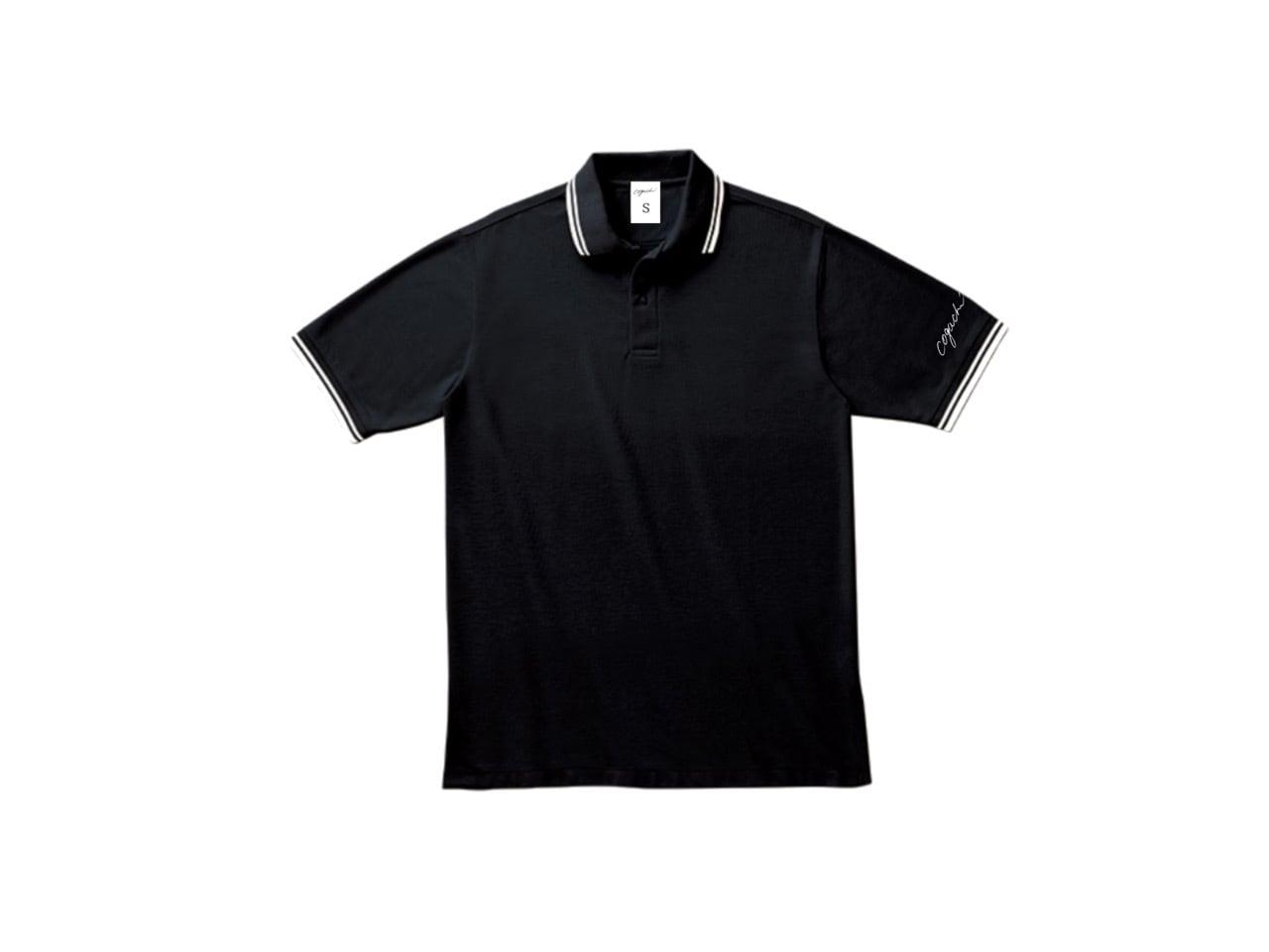 coguchi LINE polo T-shirts (BK)