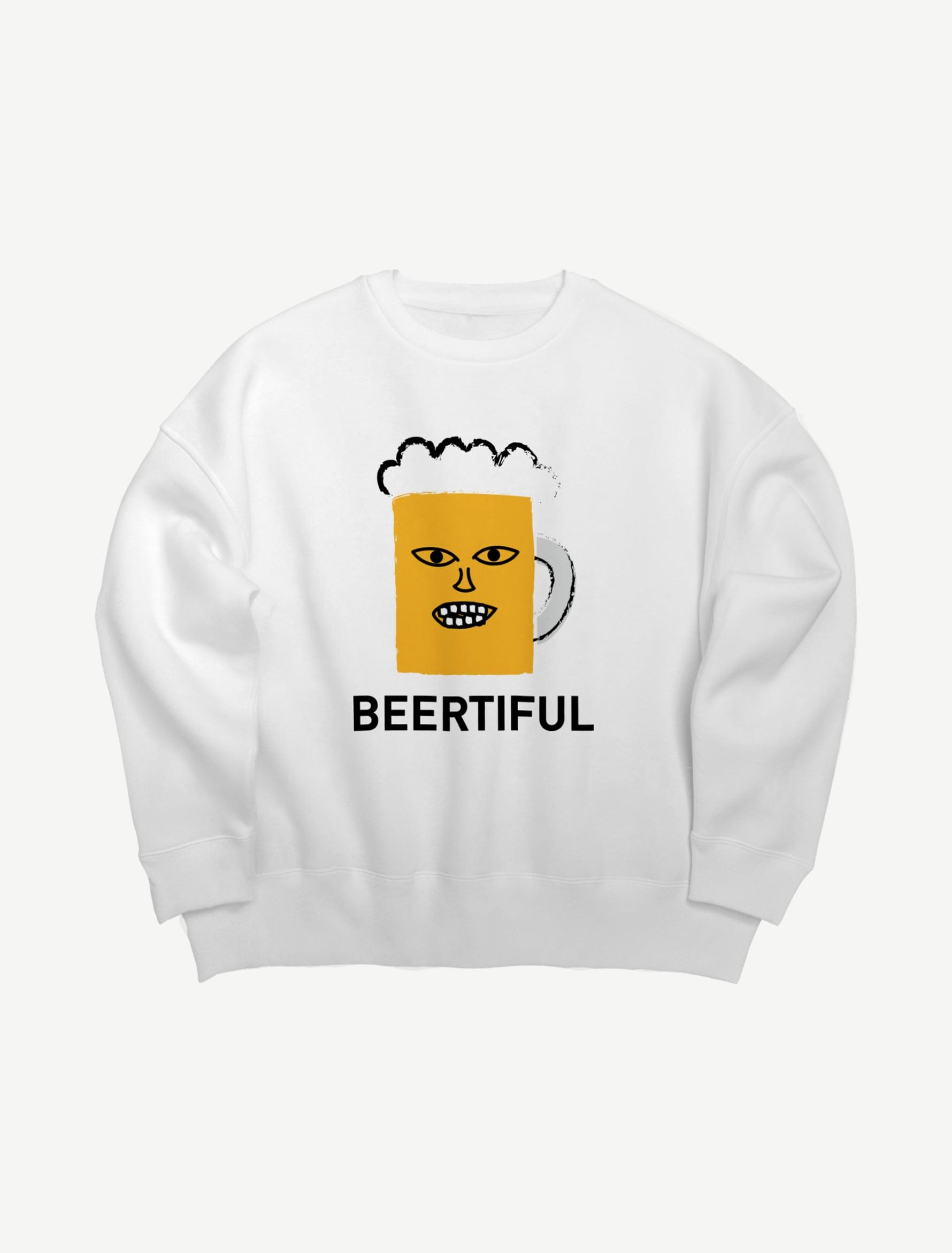 【BEERMAN】ビッグシルエットスウェット