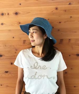 #1  ISE UDON Tシャツ  ホワイト×ベージュ(Women)