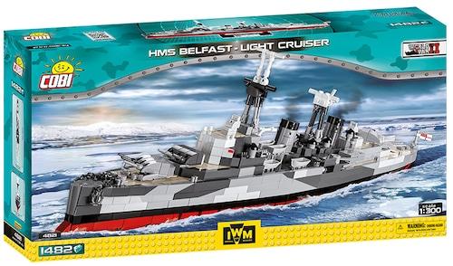 COBI #4821 軽巡洋艦HMSベルファスト (HMS Belfast) 1/300 scale