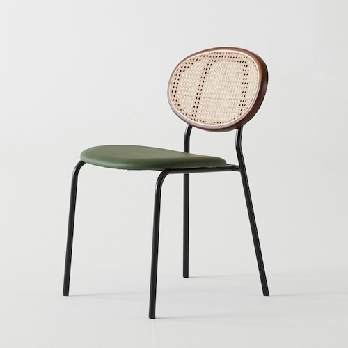 ashley rattan chair 2colors / アシュレイ ラタン チェア 椅子 韓国 北欧 インテリア 雑貨 家具