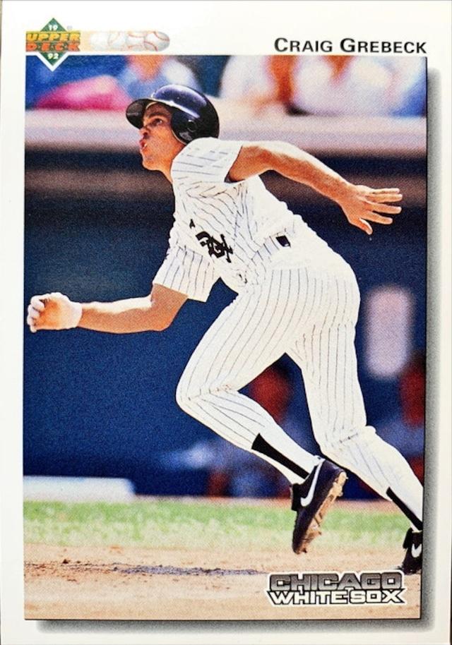 MLBカード 92UPPERDECK Craig Grebeck #603 WHITESOX