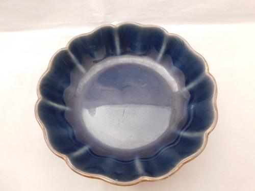 瑠璃なます皿(1客) collard porcelain  one plate(sapphire)