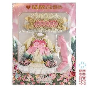 Dear Darling fashion for dolls BABY,THE STARS SHINE BRIGHT コラボドレス『月夜の森の AURORA Soirée (オーロラソワレ)』ピンク