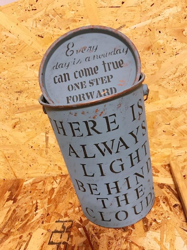 アイアン加工リメイク缶