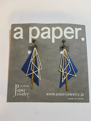 【Paper Jewely】オリオン/イヤリング