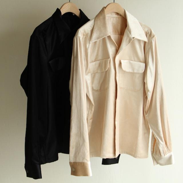 Yarmo【 womens 】band collar shirts