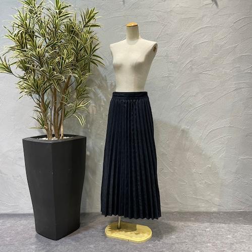 ara・ara/デニムフロントプリーツスカート