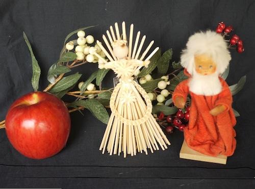 ストロー オーナメント 藁飾り 大天使