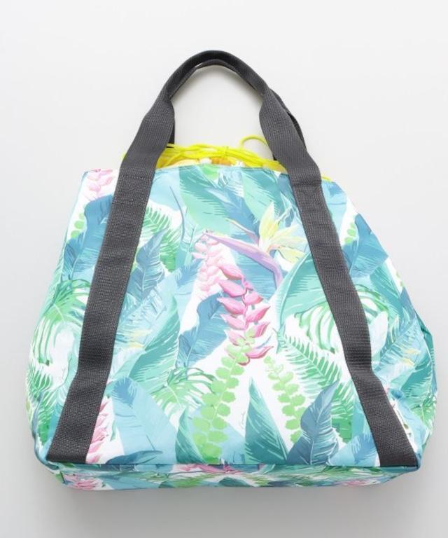 【Mauna loa/マウナロア/MMJ】ベストセラー商品☆ ハワイアンバッグ フラバッグ レッスンバッグに人気 ヘリコニア