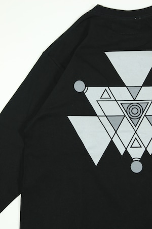 """LOCAL MAGAZINE 2ND ISSUE """"DEFEAT"""" HEAVY L/S TEE [BLACKHOLE]"""