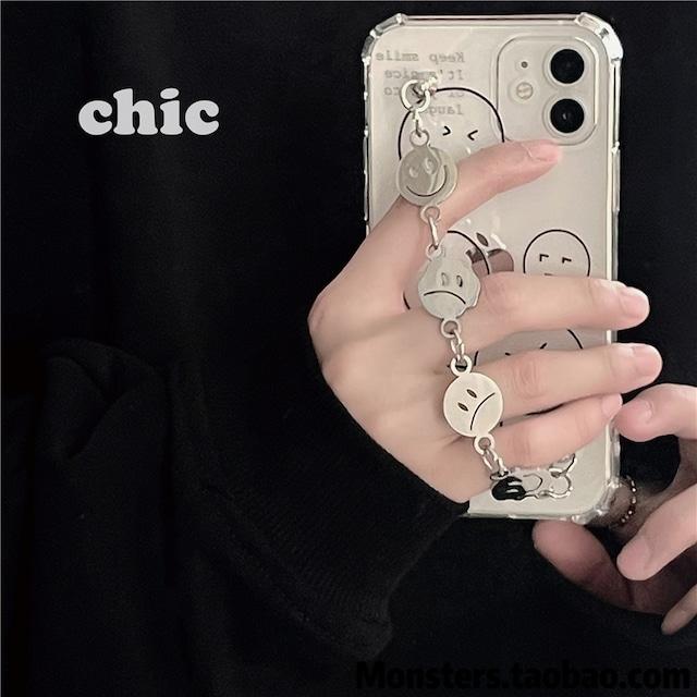 チェーンスマイリーiPhoneケース