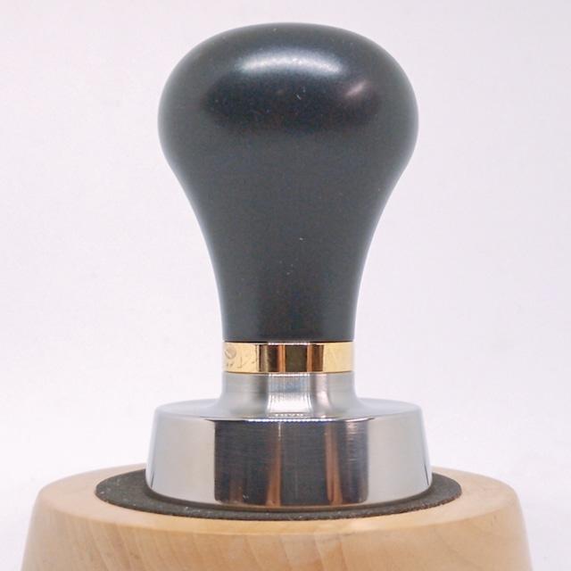 TORRタンパー●チタンTFSE 49.4mm フラット シャープエッジ Espressoタンパー Pavoni プレミレニアム
