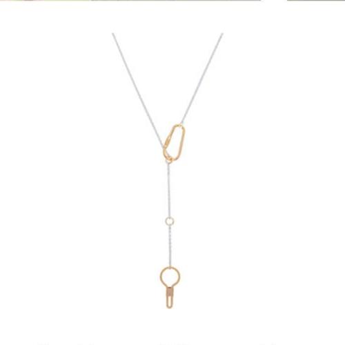 Sead's Mara/シーズマーラ Carabiner motif long necklace 21A3-66