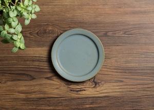 SHIROUMA 洋皿 15cm 灰色(小皿・デザート皿・パン皿)/長谷川 哲也