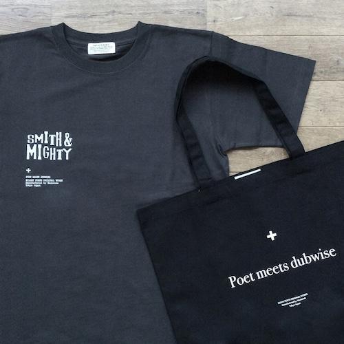 """【残りわずか/別注】POET MEETS DUBWISE """"Smith & Mighty"""" Tシャツ + エコバッグ"""