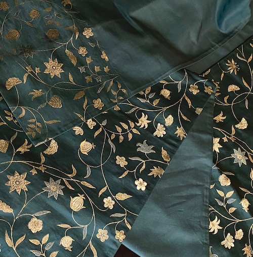 〈大正浪漫の花唐草の帯〉織り出し 普段着の帯 SALE  アンティーク