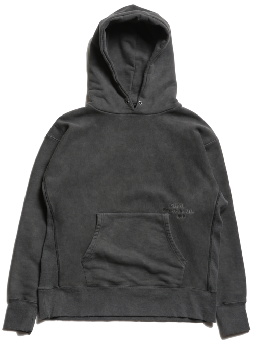 """CC""""STAND BY ME"""" HOODY -FADE BLACK-"""