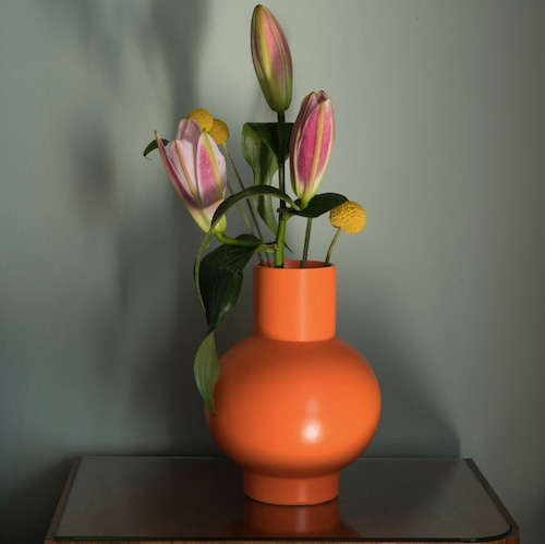 Raawii Strøm Vase (L) Orange