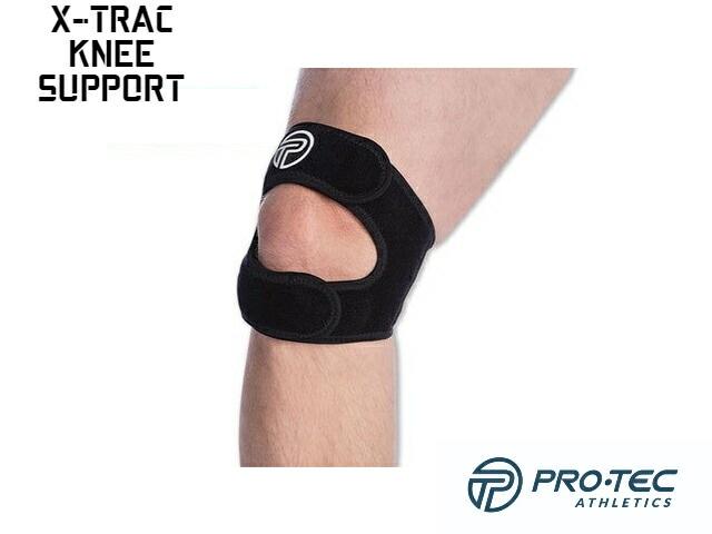 【PRO-TEC】 X-Trac Knee Support (Black)