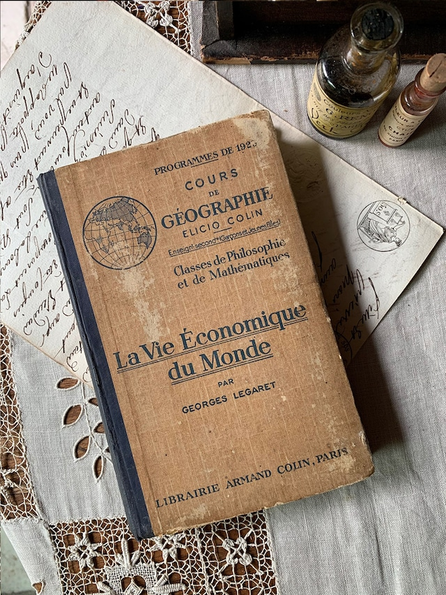 古書 La Vie Économique du Monde