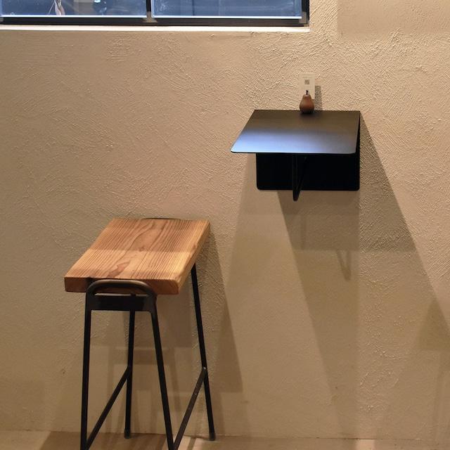 壁に取り付けるテーブル(K-T-1714)サンドブラック