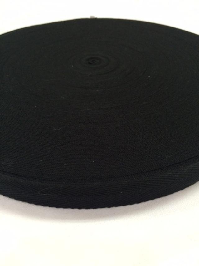 SALE!!   アクリル 杉綾織(綾テープ) 黒  1mm厚 20mm幅 1巻(50m)