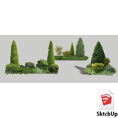 樹木SketchUp 4t_011 - 画像1