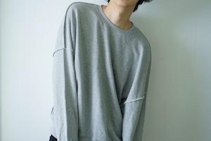 Gray sweatshirts