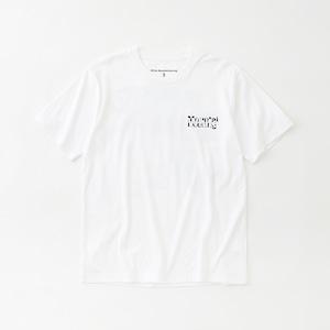 GEOMETRIC PATTERN PRINTED T-SHIRT  - WHITE