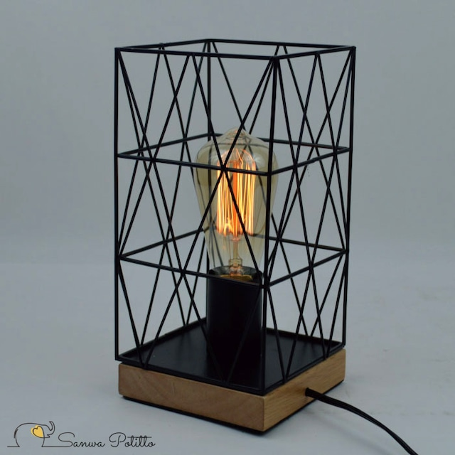 エジソン電球照明 p18131 フロアライト デスクライト シンプル 昭和レトロ アンティーク レトロ 懐かしい 昭和 ノスタルジック ノスタルジー P18131 高さ27cm