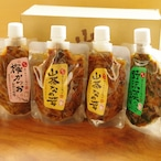 信州森のきのこ工房 山茶なめ茸食べ比べセット 計12パック
