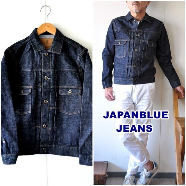 JAPAN BLUE JEANS(ジャパンブルージーンズ) J386621 モンスター デニムジャケット 16.5oz セルヴィッチ Gジャン