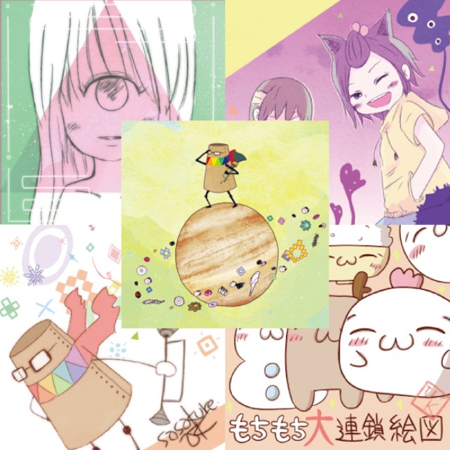 sasakure.UK ステッカーコレクション Vol.1 - メイン画像