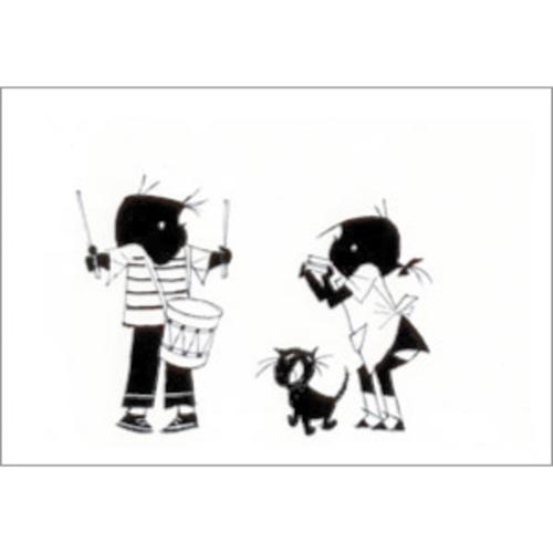 ポストカード 小さな演奏会(FI_PO_00006)