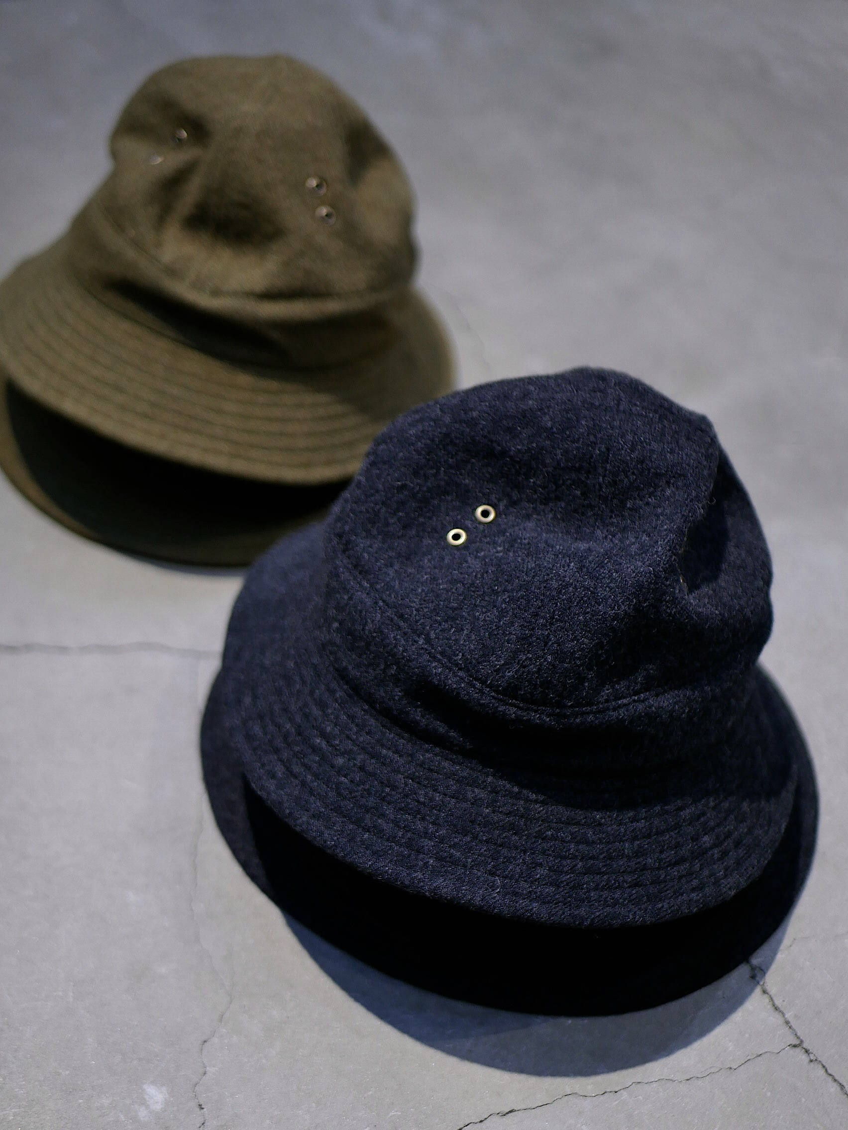 BROWN by 2-tacs / WOOL HAT