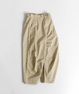 【SETTO】DOKONO PANTS (BE) ユニセックス ワイドパンツ 日本製 岡山 児島