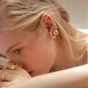 Round Shell Earring [WM-ER009]