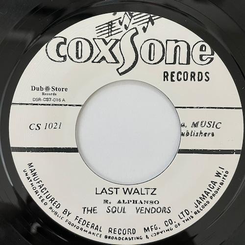 Soul Vendors - Last Waltz【7-20727】