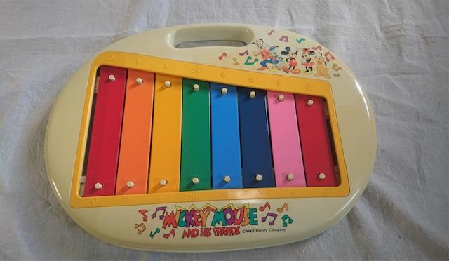 [vintage]ミッキー鉄琴