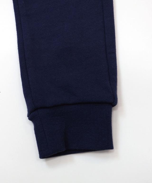 ポケット別布裏毛ロングパンツ