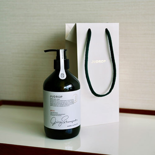 Juicy shampoo + Judrop shopping bag