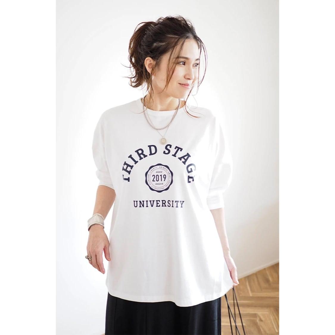 【 ANIECA 】THIRD STAGE LS T-Shirts