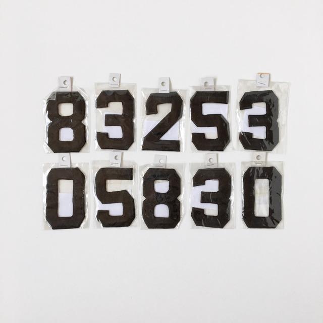数字のワッペン Uniform Number Wappen