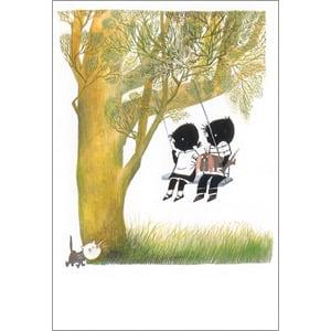 ポストカード 木のブランコ(FO_PO_10088)