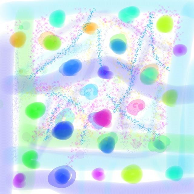 絵画 インテリア アートパネル 雑貨 壁掛け 置物 おしゃれ アブストラクトアート ロココロ 画家 : YUTA SASAKI 作品 : コーリング・ユー